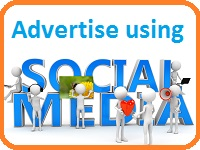 advertise using social media