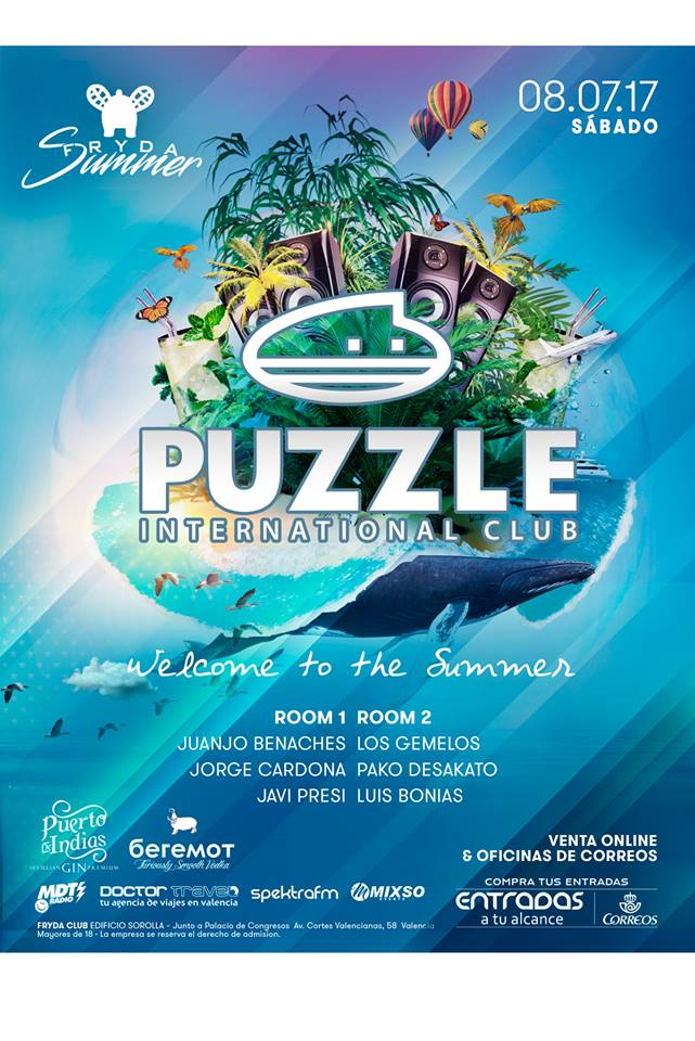 puzzle valencia discoteca fiesta