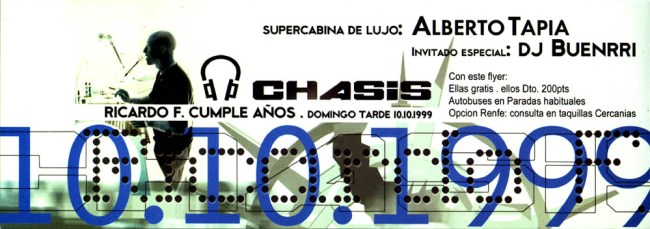 Chasis 10 10 1999