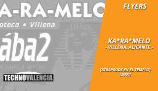 flyers_ka-ra-melo_-_villena_alicante_2000