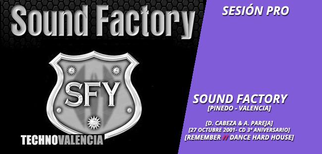 session_pro_sound_factory_-_3_aniversario_27_octubre_2001_cd_david_cabeza_&_alfredo_pareja