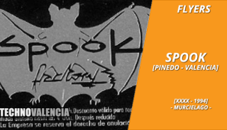 flyers_spook_factory_-_pinedo_xxxx_1994_murcielago_invitacion