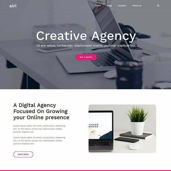 Air WordPress Themes