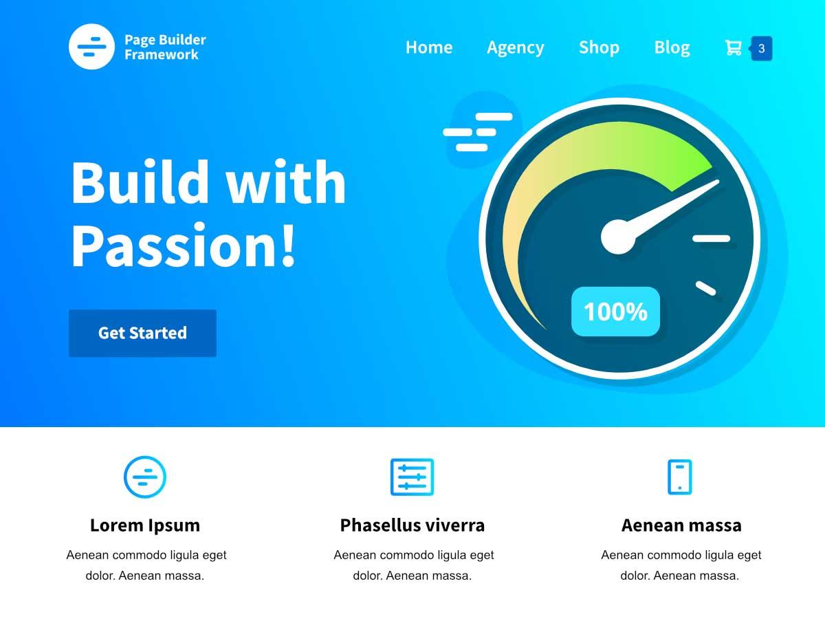 Page Builder Framework WordPress Themes