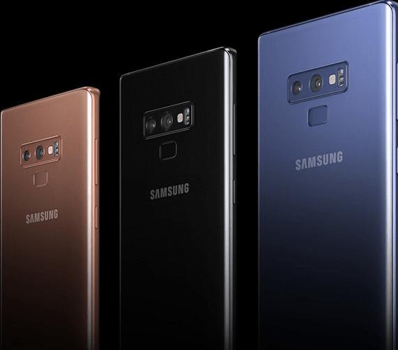 Samsung Galaxy Note 9 Hue