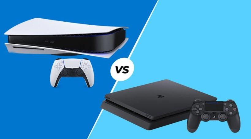 Comparación de PS5 y PS4 Pro