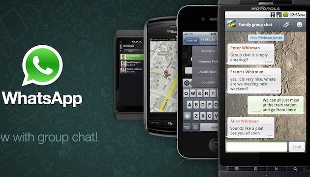 group conversation in whatsapp