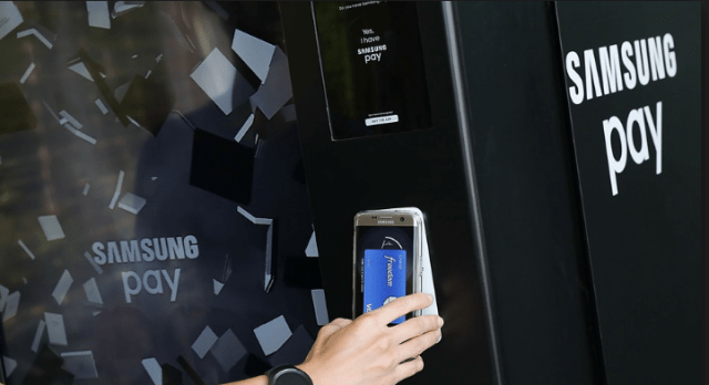 samsung pay Magnetic