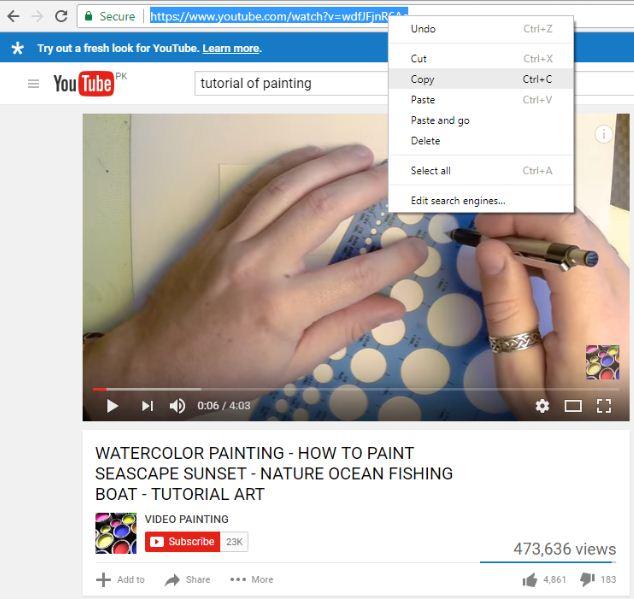 3rd option youtube