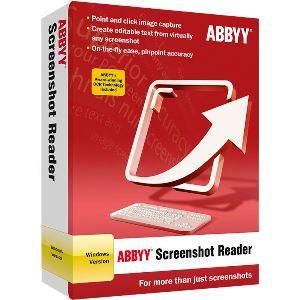 ABBYY Screenshot Reader Discount