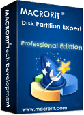Macrorit Partition Expert Professional Edition Discount