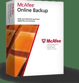 McAfee Online Backup Discount