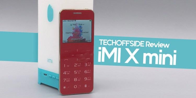 รีวิว iMI X mini ราคา