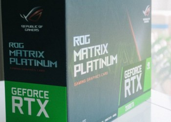 ROG Matrix GeForce RTX 2080 Ti Platinum