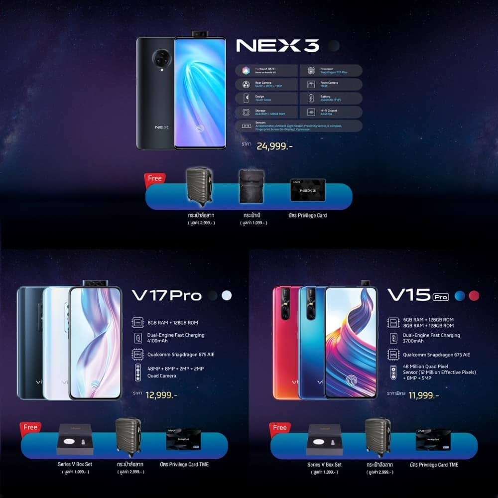 Vivo โปรโมชั่น Thailand Mobile Expo 2019