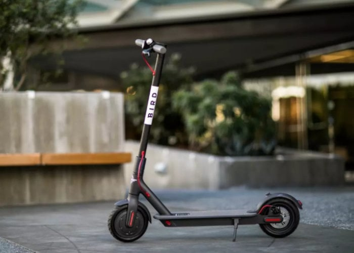 UK's first scooter sharing service launched in London by Bird
