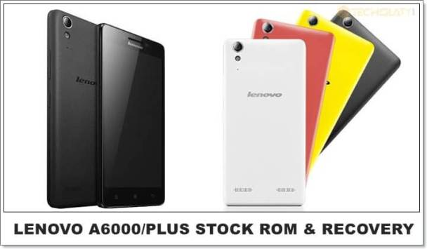 lollipop kitkat stock rom lenovo a6000 plus