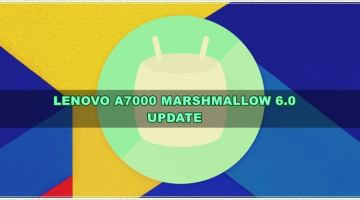 Download Lenovo A7000 Marshmallow 6.0 Rom [Official]