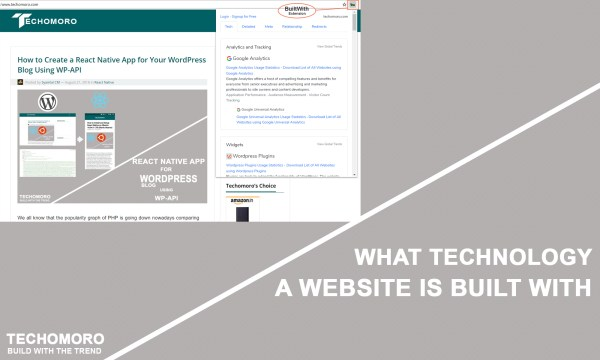 How to Find What Technology a Website is Built With