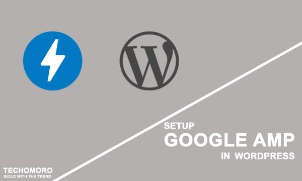 How to Setup Google AMP in WordPress
