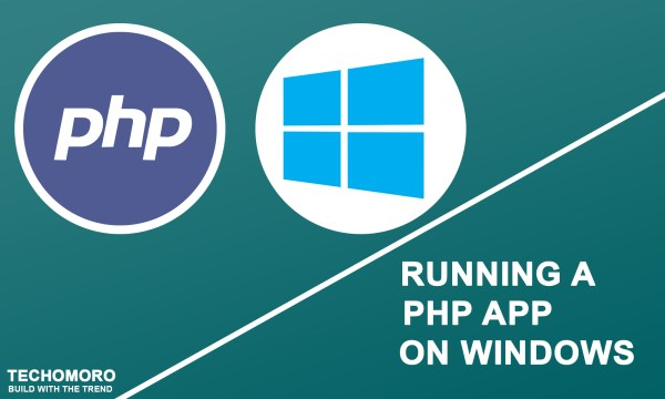 How to Run a PHP Application on Windows 10 Using XAMPP