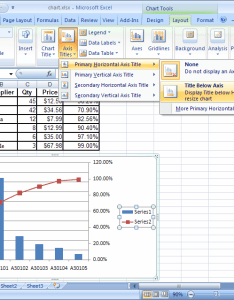 Microsoft excel also ms create  chart with two  axes and one shared  axis rh techonthenet