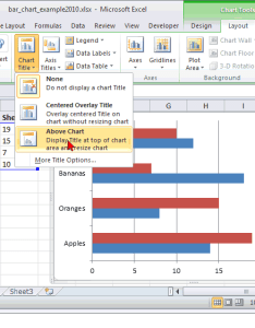 Microsoft excel also ms how to create  bar chart rh techonthenet
