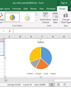Microsoft excel also ms how to create  pie chart rh techonthenet