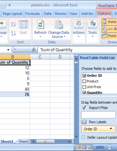 Next refresh pivot table also ms excel how to change data source for  rh techonthenet