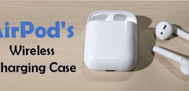 Wireless Charging AirPods