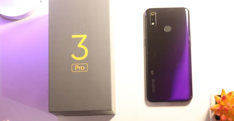 realme 3 Pro Lightining Purple Special First Anniversary Edition