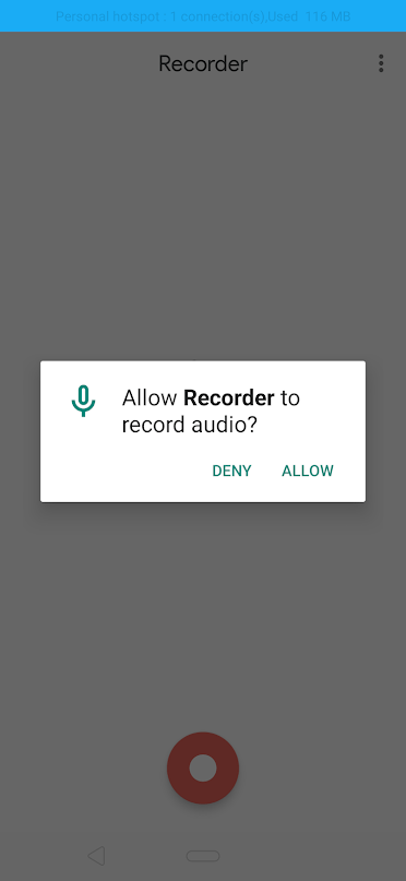 Google Recorder APK on Android