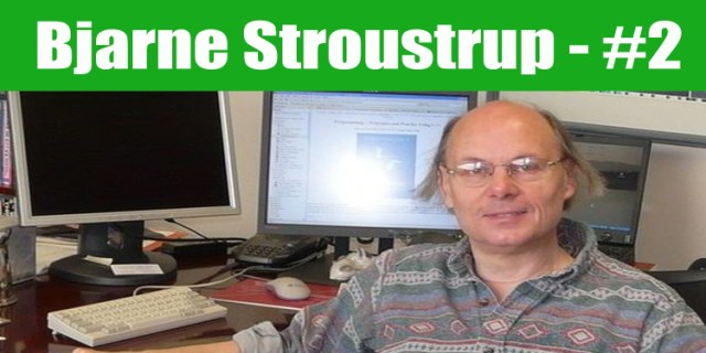 image: Bjarne Stroustrup top programmer in the world