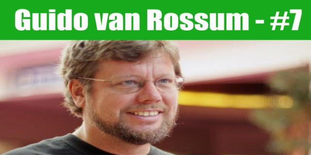 image: Guido Van Rossum top programmer in the world