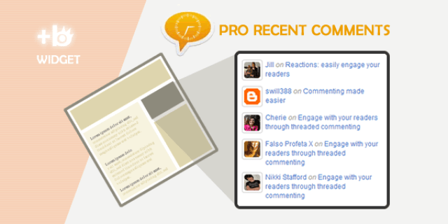 image: How Add Recent Comments Widget To Bloggers Blogs