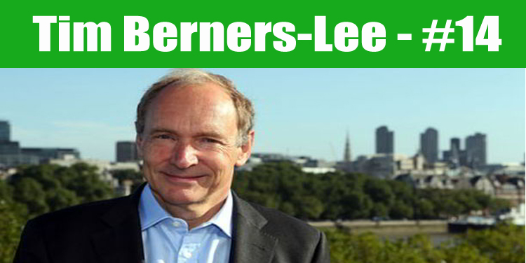 image: Tim Berners-Lee top programmer in the world