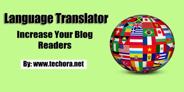 image of language translator for your non-english visitors