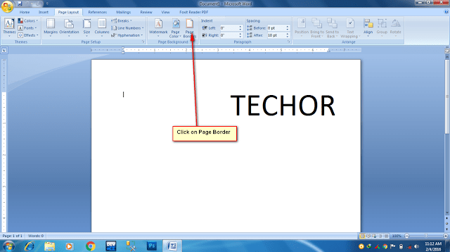 How To Add Border into Your MS Word Documents