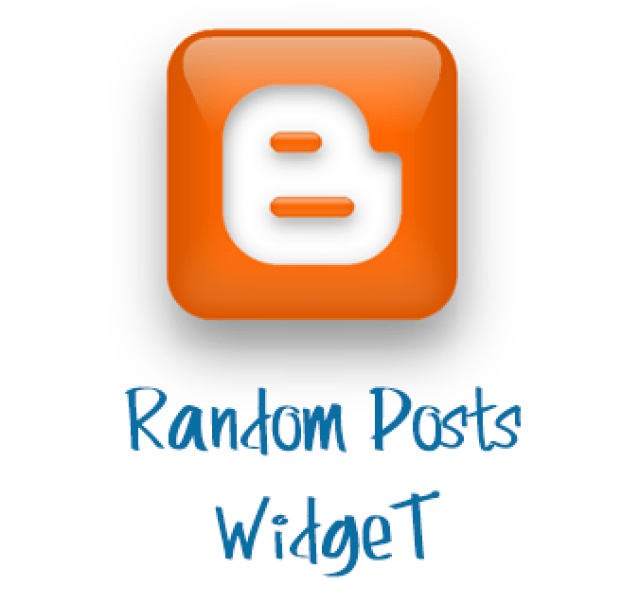 How To Add Random Posts Widget into Blogger Blogs