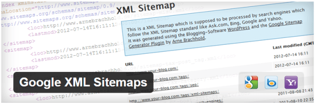image: Google XML sitemap top wordpress plugin that save your time