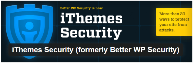 IMAGE: iTheme security top wordpress plugins that save your time and manage security