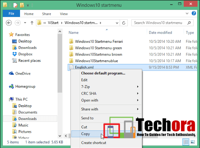 How We Get Window 10 Style Menu in Window 7, 8, 8.1
