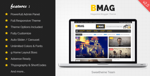 Top 7 Responsive SEO Friendly Blogger Templates Free Download