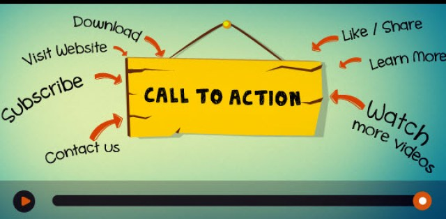image : call to actions in youtube videos for getting more subscribers