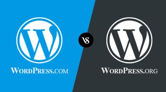 Difference Between WordPress.Com Vs WordPress.Org Infographic