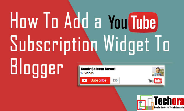 How To Add YouTube Subscribe Button into Your Blog