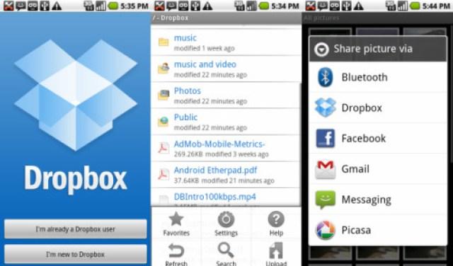 dropbox best iphone apps