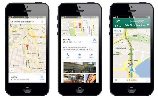 GoogleMaps best iphone apps