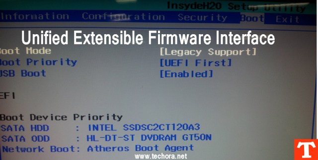 UEFI BIOS ( Unified Extensible Firmware Interface )