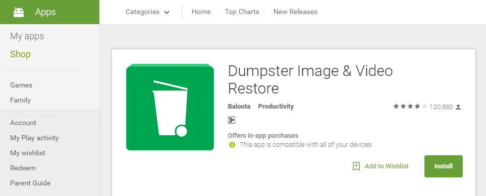 How To Add Recovery Recycle Bin To Android Devices